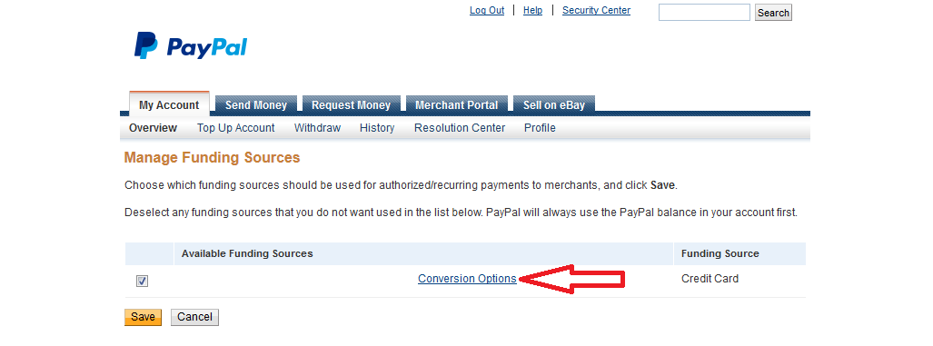 How To Disable PayPal's Currency Conversion to Save Money on